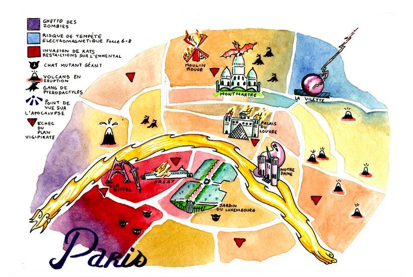 PostAp plan paris post-apo