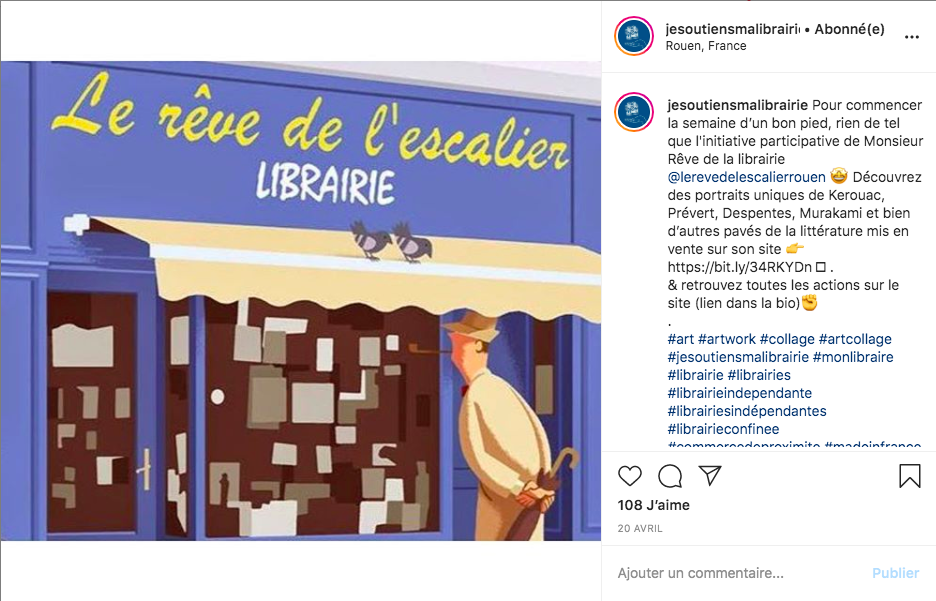 Rêve Escalier Librairie Rouen