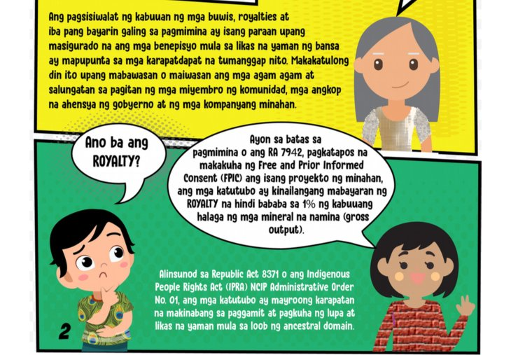 BD royalties mines philippines