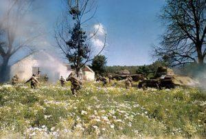 Armée rouge photo couleur