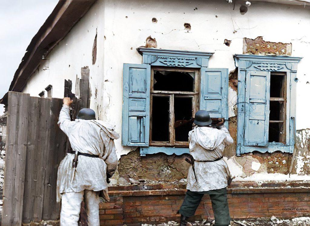 Photo guerre couleur Klimbim