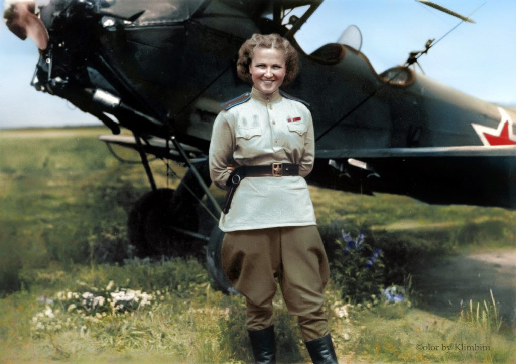Nadejda Popova pilote russe