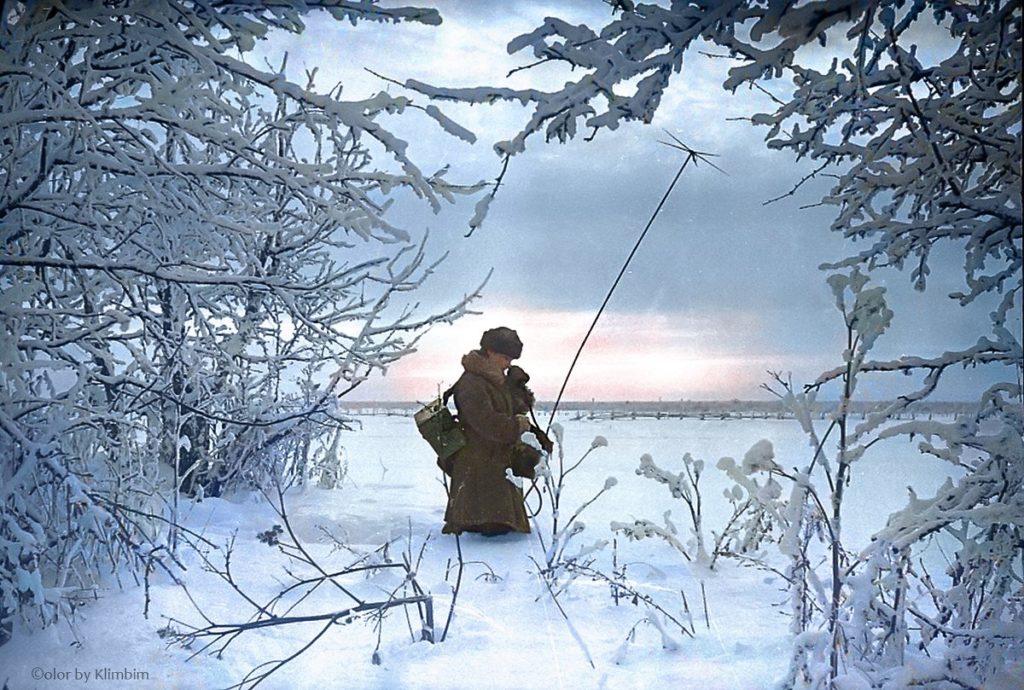 Photo guerre couleur sibérie