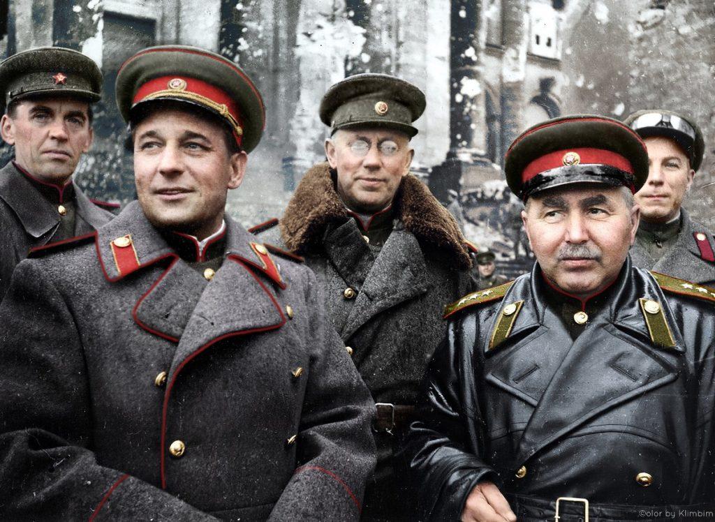 Drapeau Reichstag Commandement armée