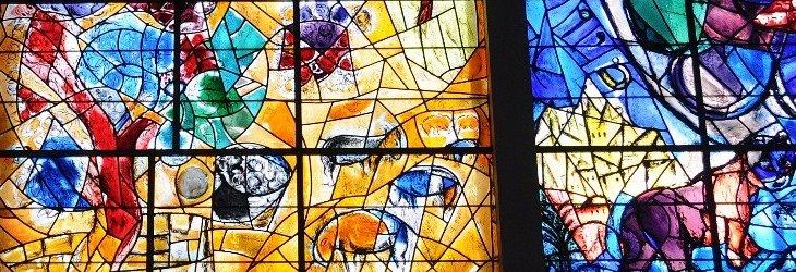 vitraux chagall synagogue hadassah