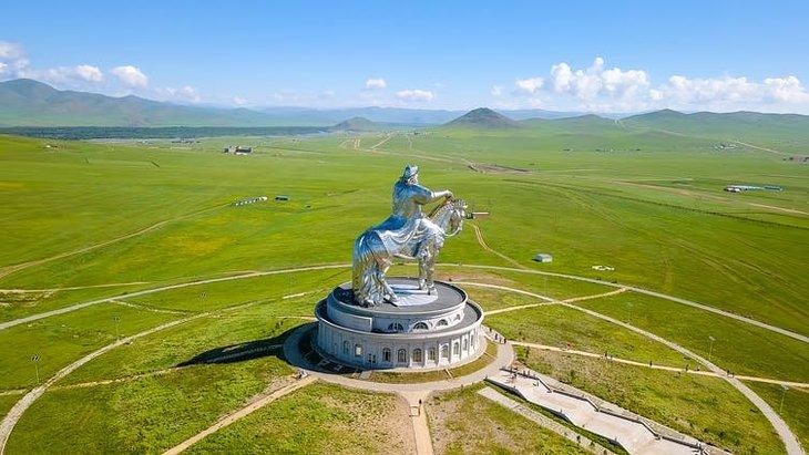 Mongolie Gengis Khan Statue