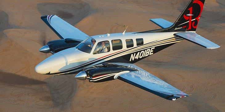 Baron Beechcraft avion autonome