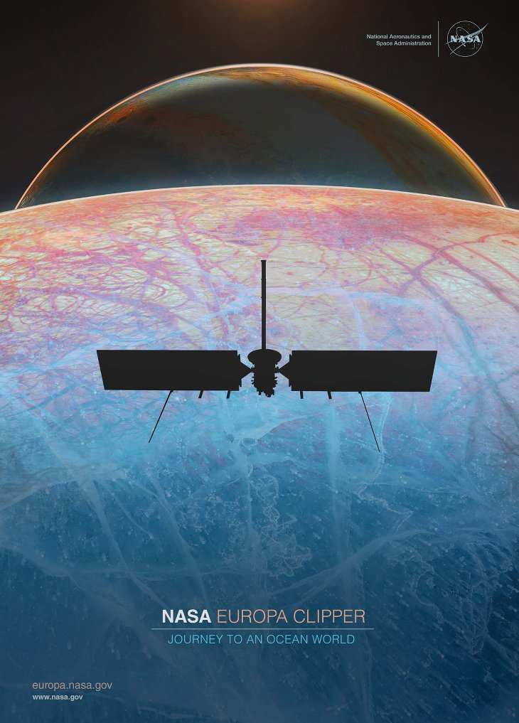 Europa Clipper Sonde NASA