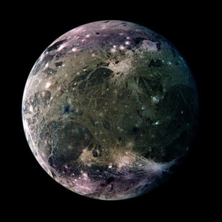 Ganymède lune Jupiter Mission