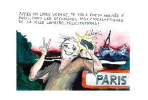 GUide PostAP Paris Arrivée