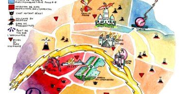 Plan Paris PostAp Mag
