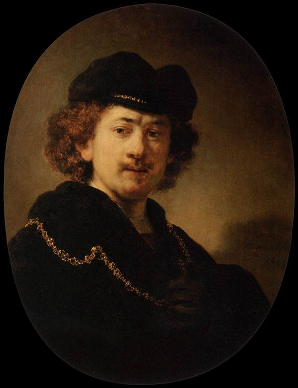Strabisme Peinture Rembrandt
