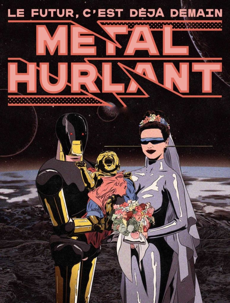 Métal Hurlant 2021 Cover