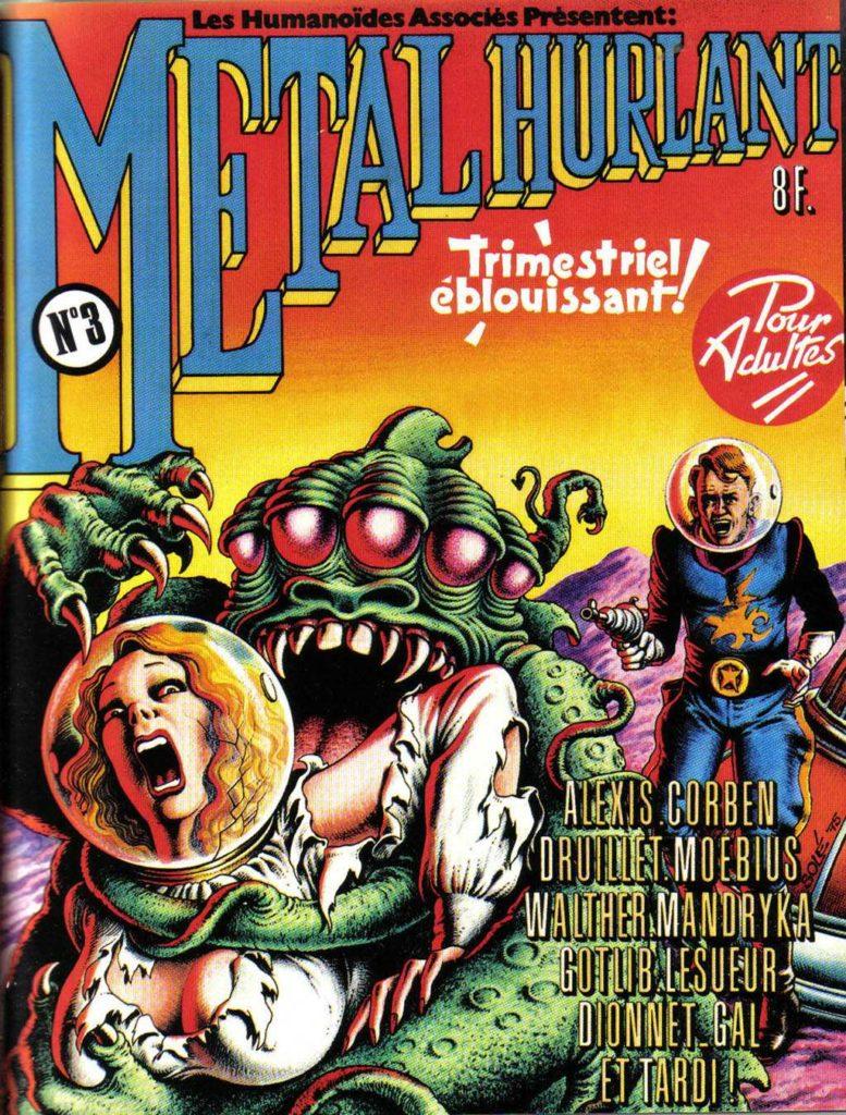 Métal Hurlant n°3 1975