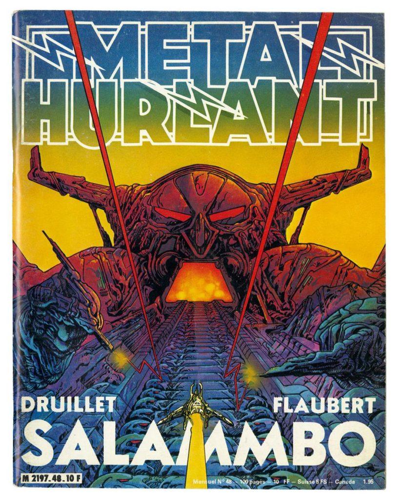 Métal Hurlant 48 Druillet